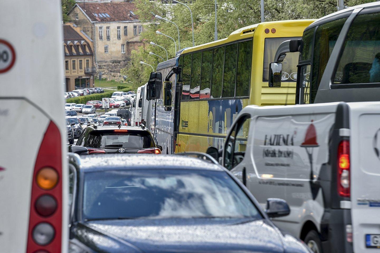 """""""Vakarų ekspreso"""" skaitytojas Ričardas, savaitgalį į pajūrį vykęs maršrutiniu autobusu, buvo nustebintas.<br>V.Ščiavinsko nuotr."""