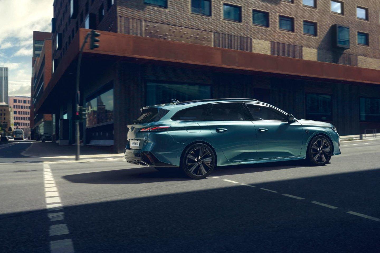 """""""Peugeot"""" gamą papildė naujas 308 SW modelis.<br>Pranešėjų spaudai nuotr."""