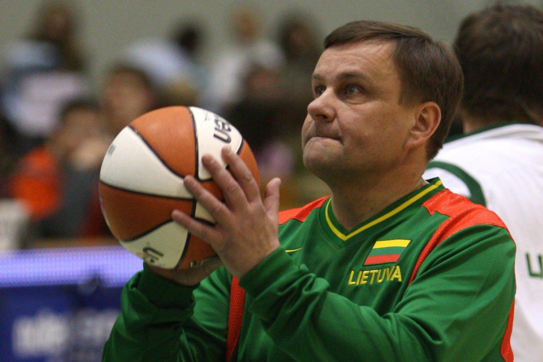 Vydas Gedvilas kandidatuoja į LKF prezidento postą.<br>G. Šiuparys