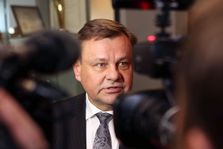 Vydas Gedvilas kandidatuoja į LKF prezidento postą.<br>M.Patašiaus nuotr.