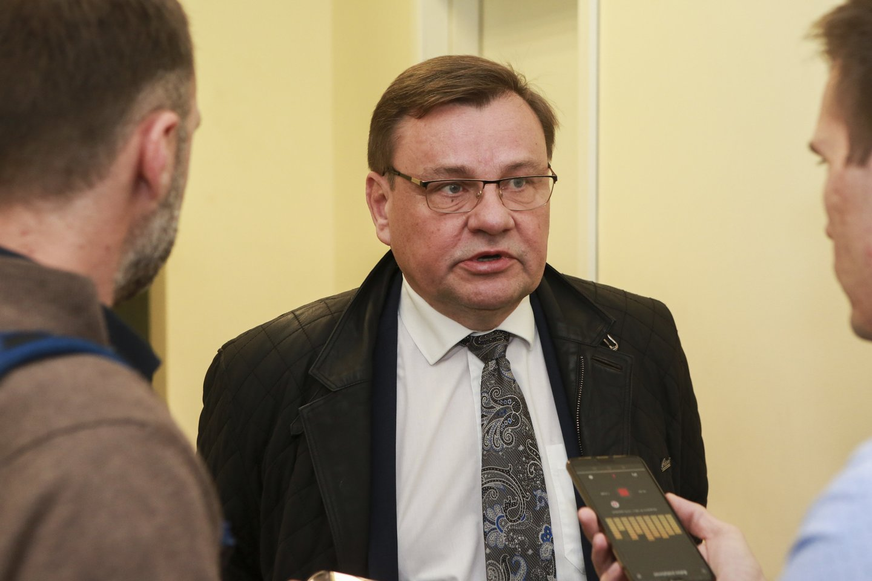 Vydas Gedvilas kandidatuoja į LKF prezidento postą.<br>G.Bitvinsko nuotr.