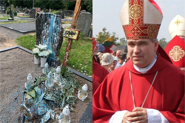 Panevėžio vyskupas Linas Vodopjanovas OFM sakė nežinojęs apie jo vyskupijoje įvykusį sukrėtimą ir griežtai pasmerkė brutalų išpuolį prieš mirusįjį.<br>V.Stanislovaičio irR.Vitkaus nuotr.