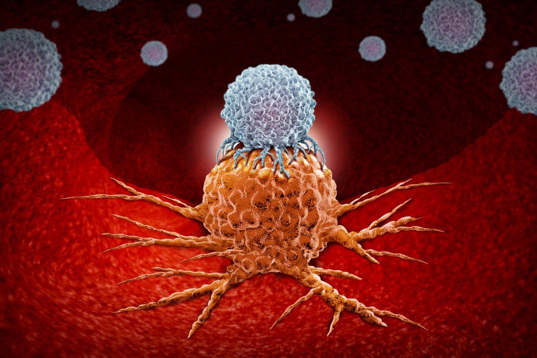 Gydymas BNT111 vakcina bus derinamas su esamais imunoterapiniais vaistais ir taip bus siekiama kovoti su tam tikros rūšies išplitusia melanoma (odos vėžiu). (asociatyvinė iliustr.)<br>123rf iliustr.