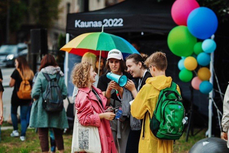 """Festivalis """"Per_kūnija"""" siekia tyrinėti identiteto, psichologinės gerovės, komunikacijos neverbaliniais būdais, tvarumo ir kitas jaunimo auditorijai aktualias temas.<br>Andriaus Aleksandravičiaus nuotr."""
