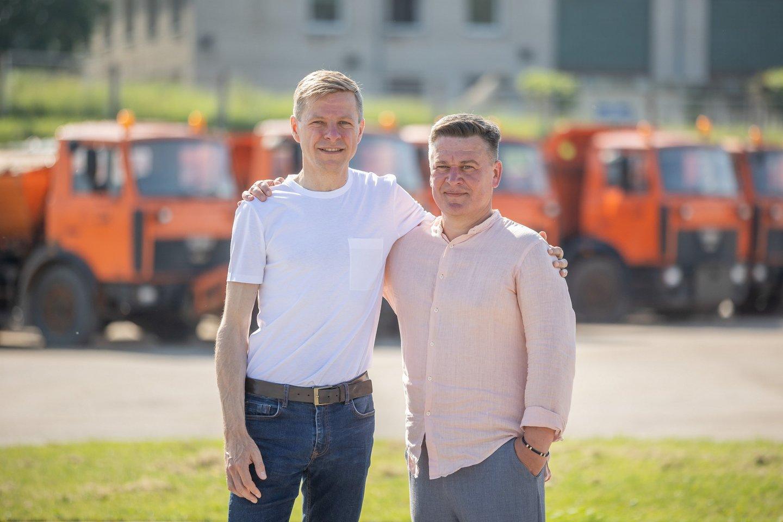 """Vilniaus savivaldybės valdomą įmonę """"Grinda"""" palieka penkerius metus jai vadovavęs Kęstutis Vaicekiūtis.<br>S.Žiūros nuotr."""