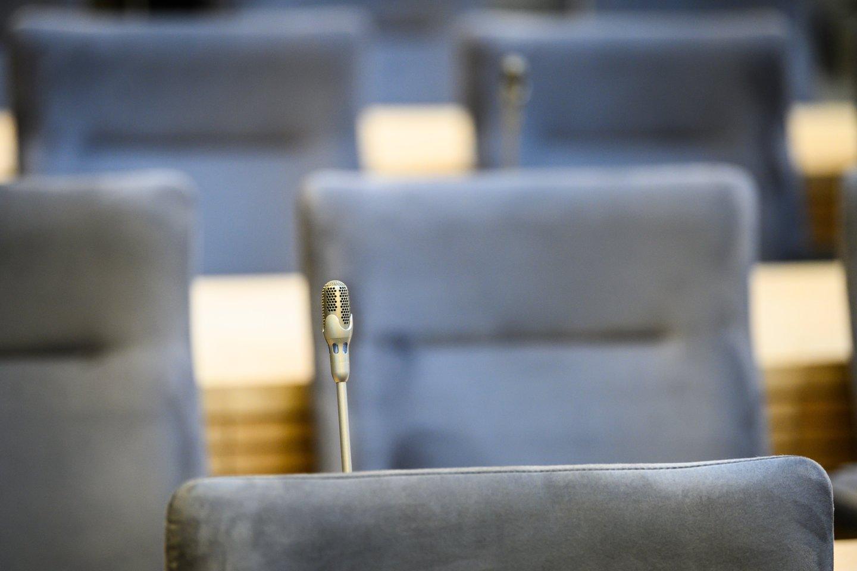 Kėdės.<br>V.Skaraičio nuotr.