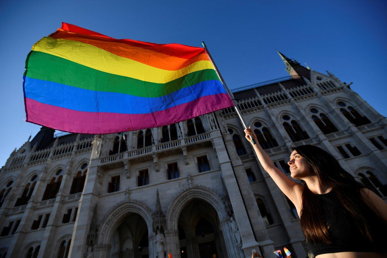ES šalys, įskaitant Lietuvą, reiškia susirūpinimą dėl Vengrijos įstatymo prieš LGBTQ.<br>Reuters/Scanpix nuotr.