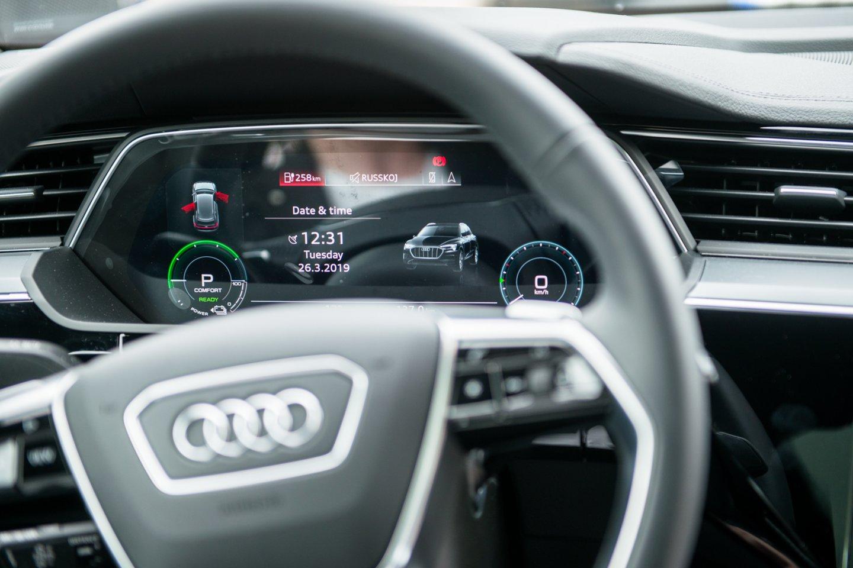 Audi.<br>J.Stacevičiaus nuotr.