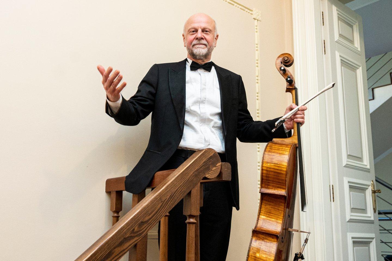 "Koncertas""Likimo simfonija"": A.Malcys.<br>D.Matvejevo nuotr."
