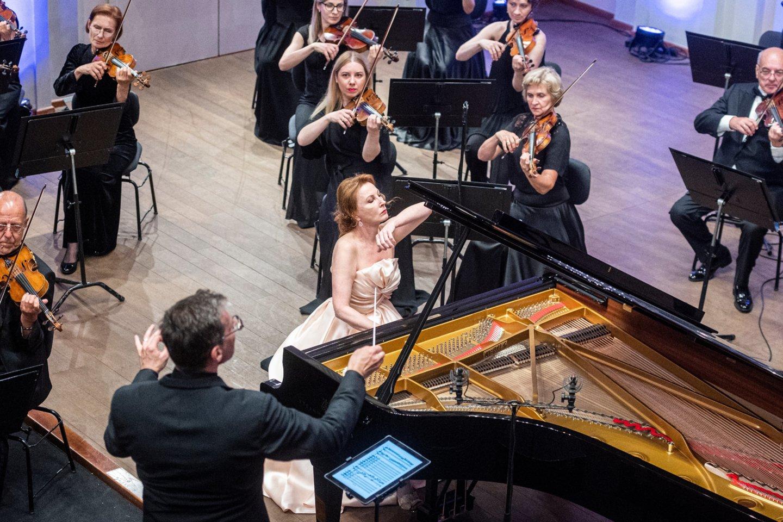 "Koncertas""Likimo simfonija"".<br>D.Matvejevo nuotr."