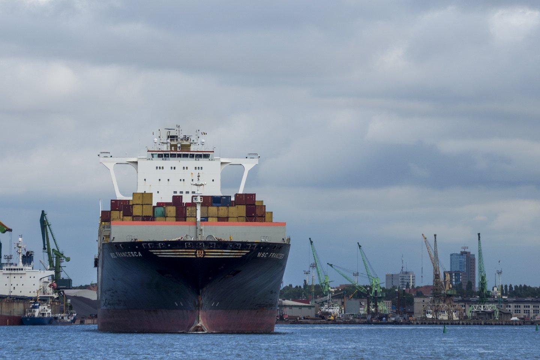 ES rengiantis uždrausti Baltarusijai eksportuoti kalio trąšas per Klaipėdą, uostui bus sunku greitai rasti alternatyvą šiems kroviniams.<br>V.Ščiavinsko nuotr.