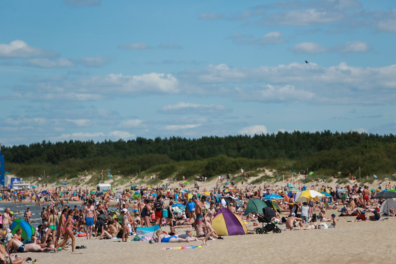 Lietuvoje užfiksuotas jau trečias karščio rekordas.<br>G.Bitvinsko nuotr.