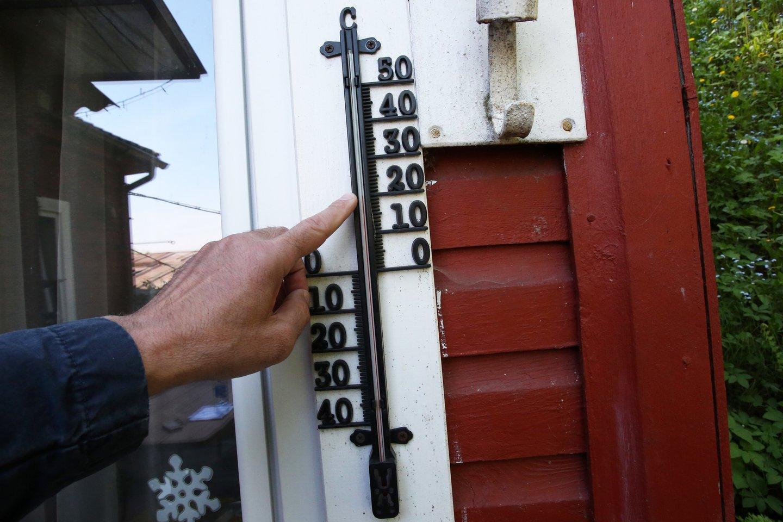 Lietuvoje užfiksuotas jau trečias karščio rekordas.<br>M.Patašiaus nuotr.
