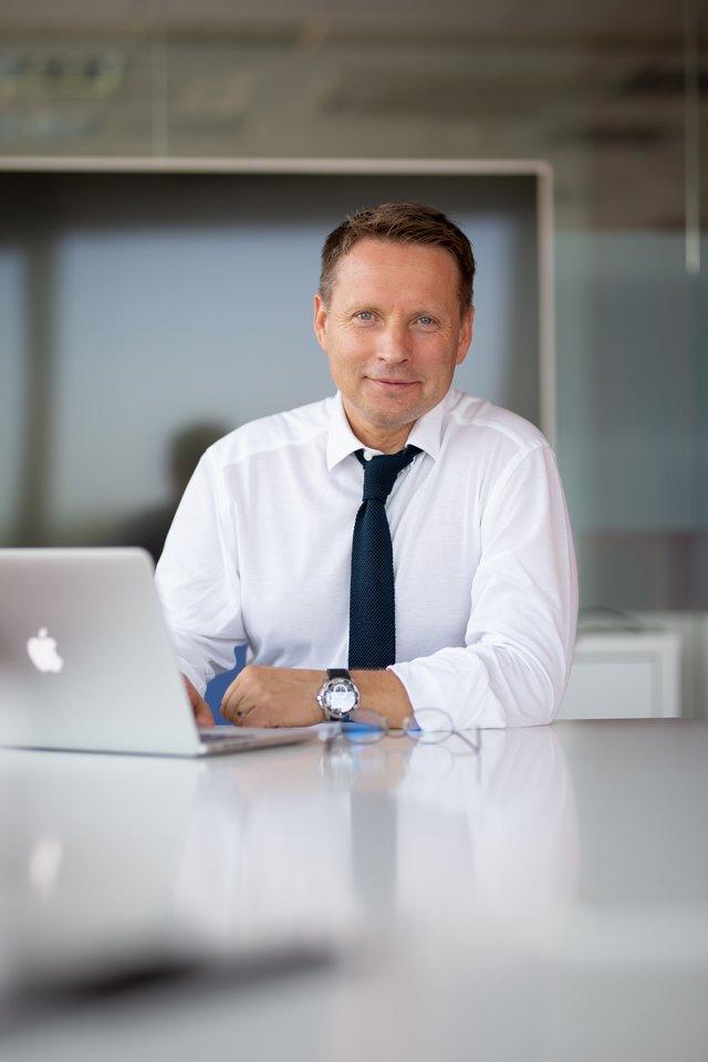"""Bendrovės """"Beta Media"""", valdančios didžiausią paslaugų ir pramogų pardavimo portalą beta.lt, vadovas Raimundas Adomaitis.<br>beta.lt nuotr."""
