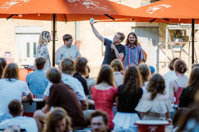"""Grupė """"jautì"""" pristato albumą """"APREIŠKIMAS"""".<br>Ryčio Šeškaičio nuotr."""