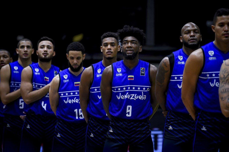 Venesuelos rinktinė turėjo atšaukti dvejas rungtynes.<br>FIBA nuotr.