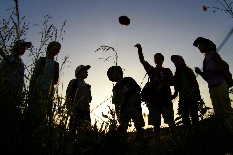 Siūloma 7-16 metų vaikams iš valstybės biudžeto apmokėti kasmetines edukacines 5-7 dienų trukmės vasaros stovyklas.<br>V.Balkūno nuotr.