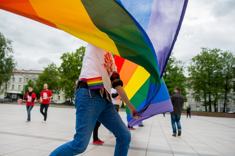 LGBT vėliava.<br>J.Stacevičiaus asociatyvi nuotr.