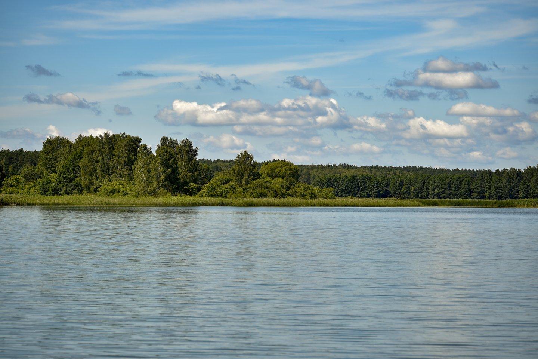 Visuose šalies ežeruose vandens temperatūra yra perkopusi 20 laipsnių, dauguma ežerų įšilę iki 22-24 laipsnių.<br>V.Ščiavinsko asociatyvi nuotr.