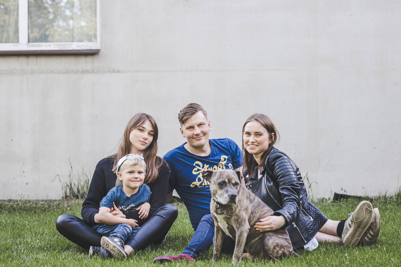 Margiris, Meilutė, Martynas ir Miglė.<br>FotoPlunksna nuotr.