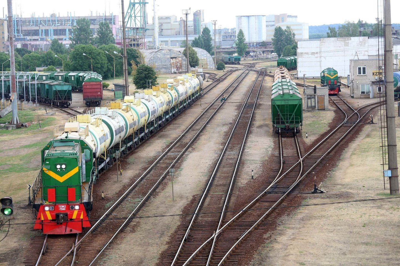 Sankcijų poveikis į tranzitą įtrauktoms Lietuvos įmonėms išlieka nežinomas.<br>M.Patašiaus nuotr.