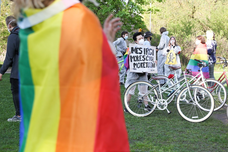 Kauno miesto savivaldybė nesuteikė leidimo dar vienai su LGBT bendruomene susijusiai iniciatyvai.<br>T.Bauro nuotr.