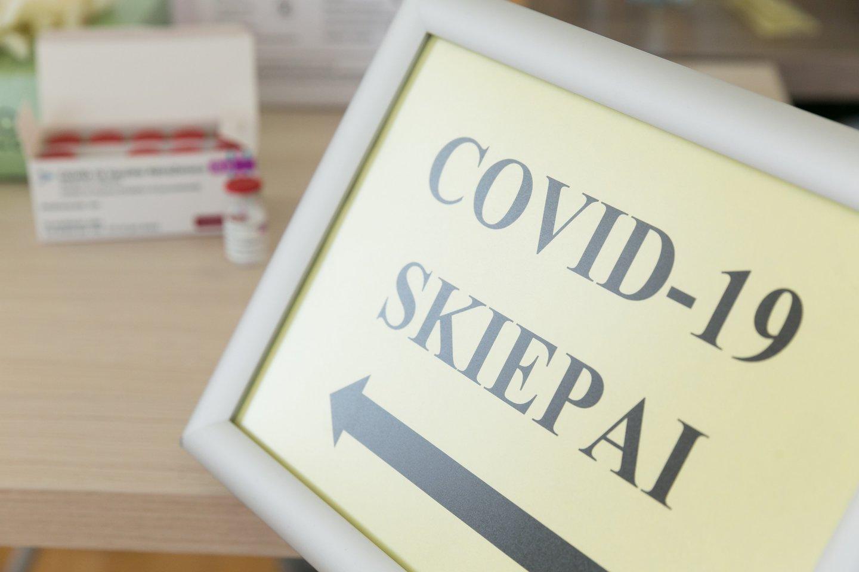 """Farmacijos kompanija """"Moderna"""" informavo, kad jos sukurta vakcina nuo koronaviruso (COVID-19) turi naują pavadinimą.<br>T.Bauro nuotr."""