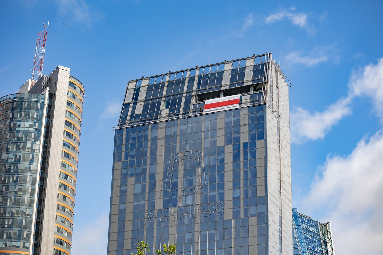 Sostinės savivaldybėje darbuosis baltarusių startuoliai, žiniasklaida ir verslai.<br>Savivaldybės nuotr.