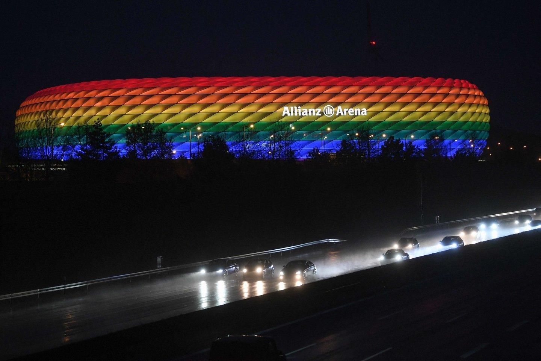 Miuncheno stadionas vaivoryk<br>AFP/Scanpix nuotr.