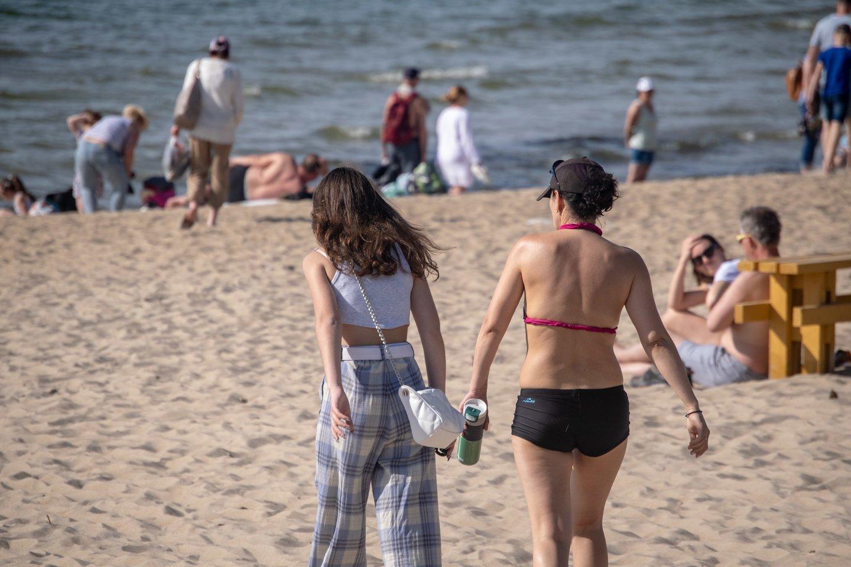 Karščio banga kelia pavojų sveikatai.<br>I.Danieliūtės nuotr.