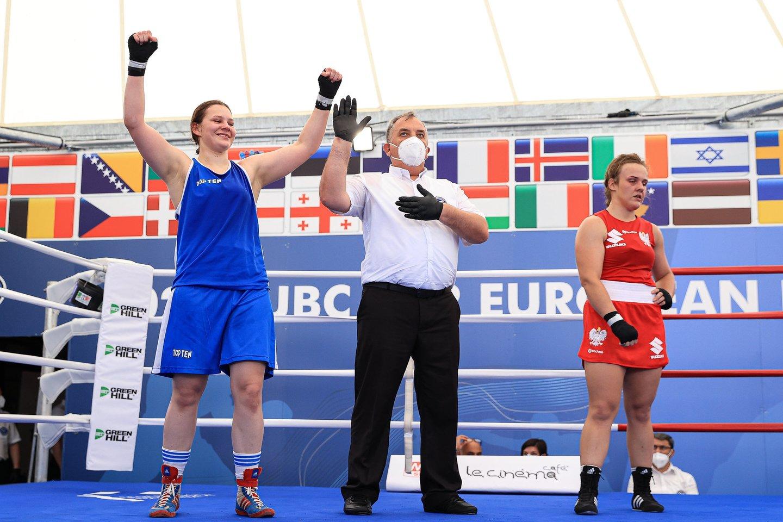 G.Stonkutė iškovojo sidabro medalį.<br>Organizatorių nuotr.