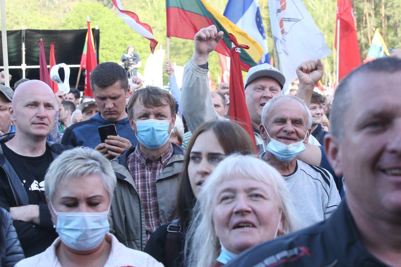 Didysis šeimų maršas<br>R.Danisevičiaus nuotr.