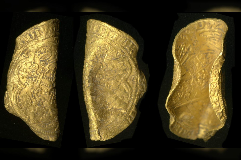 """""""Leopardo"""" moneta yra 23 karatų – tai reiškia, kad ją sudaro apie 96 proc. gryno aukso, praneša PAS.<br>Britų muziejaus nuotr."""