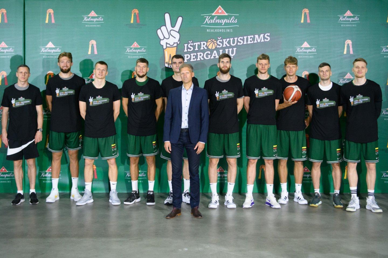 """""""Kalnapilio"""" nealkoholinio alaus iššūkis """"Ištroškusiems pergalių"""" apkeliaus visą Lietuvą."""