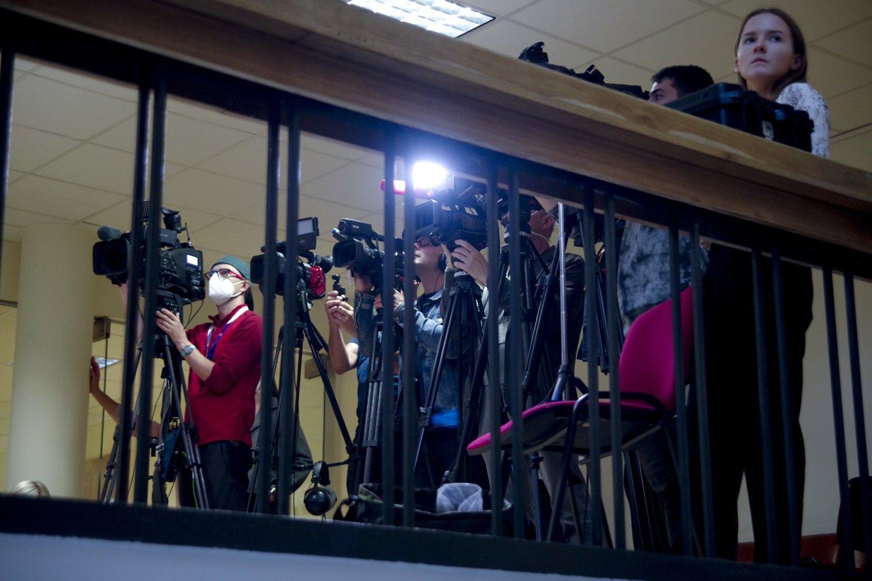 Žurnalistai.<br>V.Ščiavinsko nuotr.