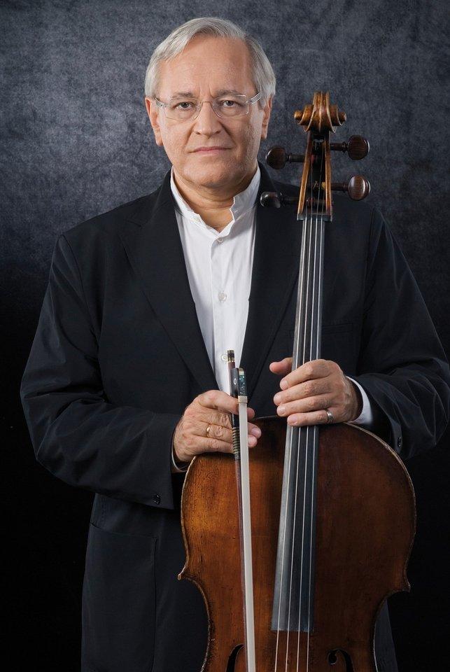 Violončelininkas D.Geringas koncertuos su Lietuvos valstybiniu simfoniniu orkestru.