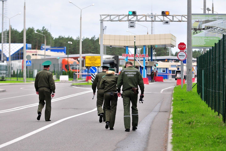 pasienis, valstybės siena, Baltarusija, Baltarusijos pasieniečiai<br>A.Vaitkevičiaus nuotr.