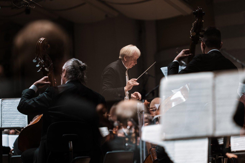 Koncertus diriguos G.Rinkevičius.<br>Organizatorių nuotr.