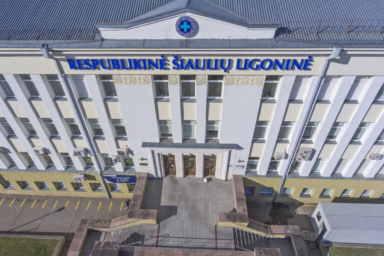 Atleidžiamas Respublikinės Šiaulių ligoninės direktorius Remigijus Mažeika.<br>G.Šiupario nuotr.