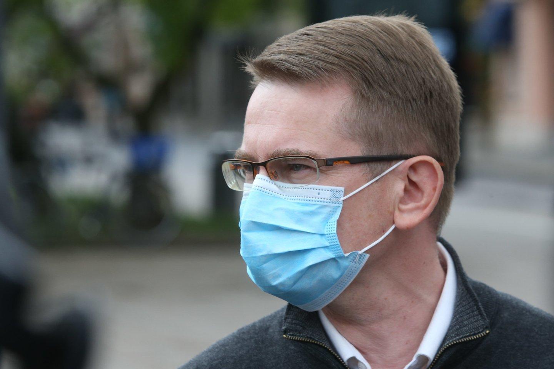 Arūnas Dulkys nusprendė pradėti Respublikinės Šiaulių ligoninės vadovo atšaukimo procedūrą.<br>R.Danisevičiaus nuotr.