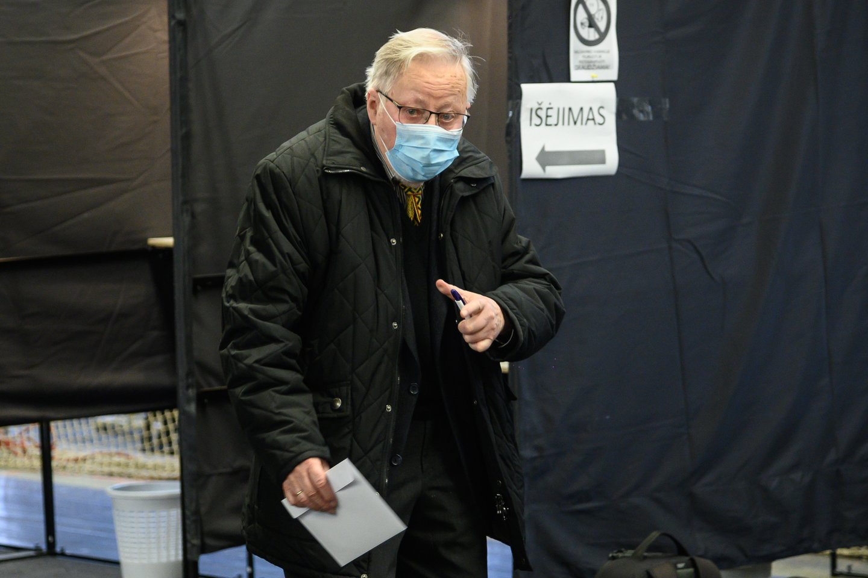 Vytautas Landsbergis<br>V.Skaraičio nuotr.