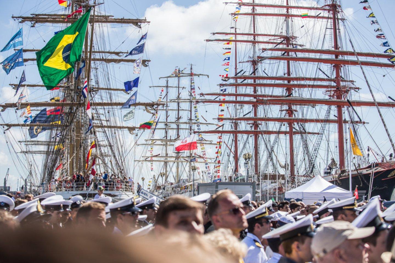 Jūros šventė Klaipėdoje.<br>Organizatorių nuotr.
