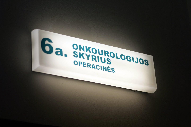 Nacionalinio vėžio instituto bendruomenės netenkina Sveikatos apsaugos ministerijos (SAM) planai reorganizuoti įstaigą paliekant tik vieną dalininką.<br>V.Balkūno nuotr.