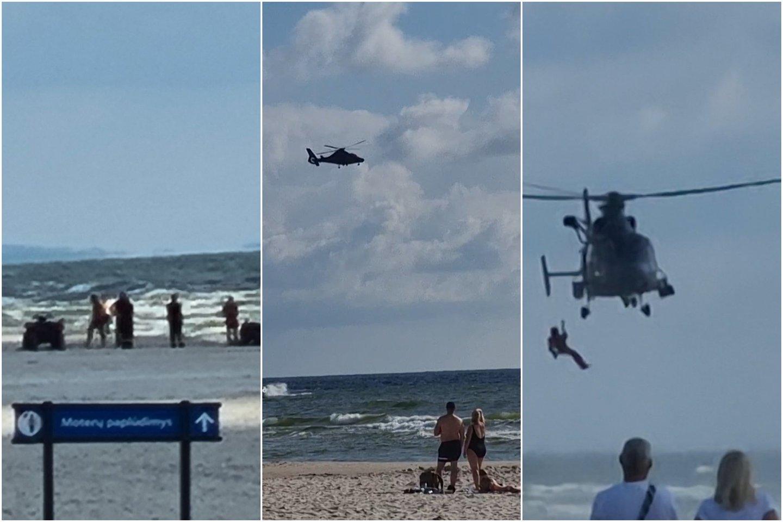 Šeštadienio vakarą Baltijos jūra pasiglemžė pirmąsias šių metų aukas – Smiltynėje nuskendo 47 metų moteris ir jos 25 metų sūnus.<br>Lrytas.lt koliažas