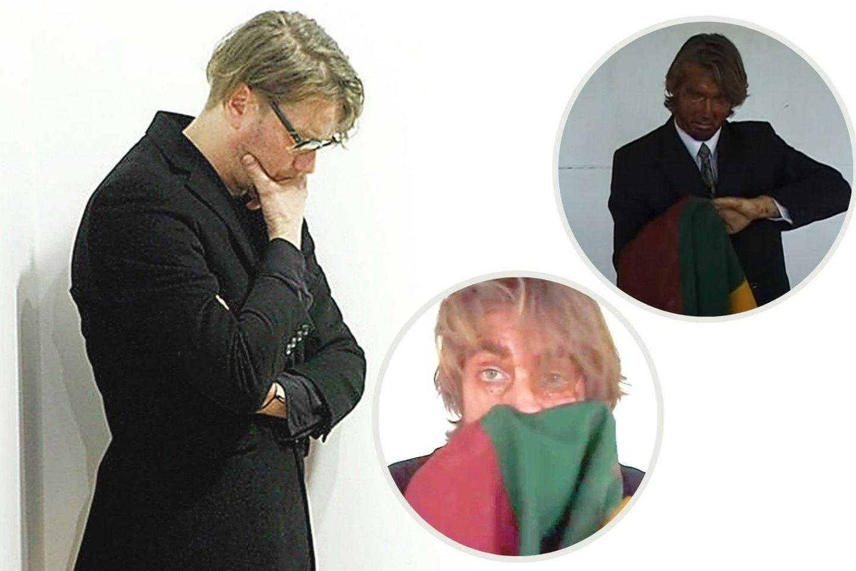 Menininkas D.Liškevičius neabejoja, kad šis jo kūrinys prokurorų taikiniu tapo tik dėl politinių priežasčių.<br>Lrytas.lt koliažas