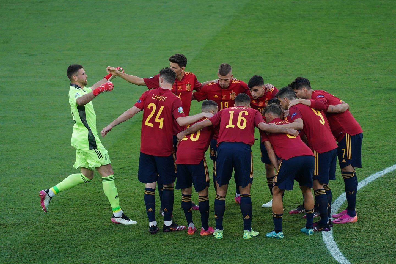 Ispanijos futbolo rinktinė<br>AFP/Scanpix.com nuotr.