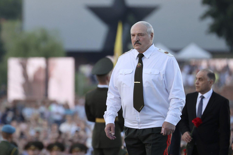 Aliaksandras Lukašenka.<br>AP/Scanpix nuotr.