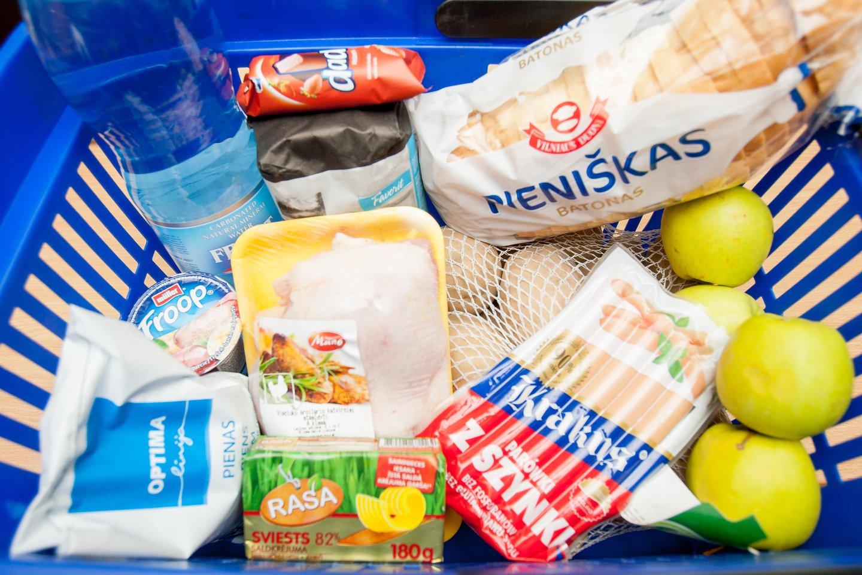 Pasaulinės maisto produktų kainos šiemet, palyginti su 2020 m., gali būti ketvirtadaliu didesnės.<br>D.Umbraso nuotr.