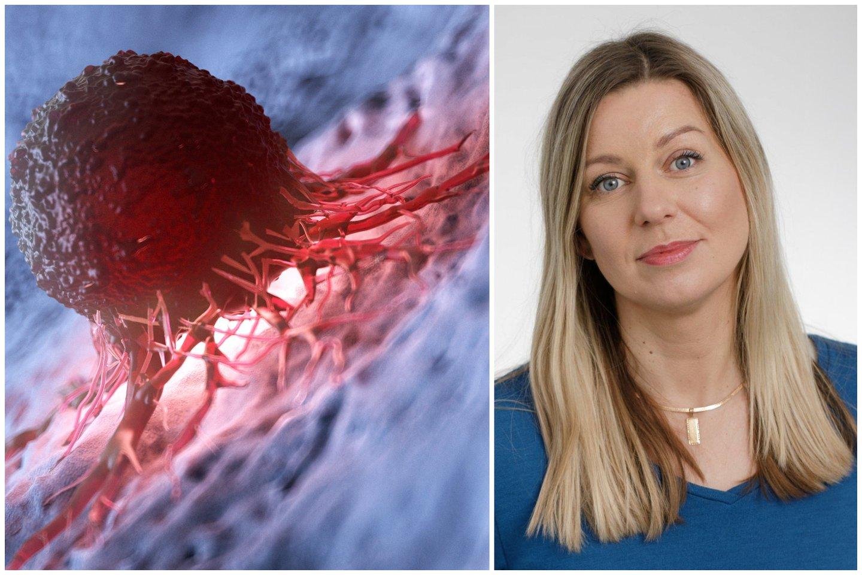POLA direktorė Neringa Čiakienė mano, kadVyriausybė turėtų skirti daugiau dėmesio, eliminuojant pandemijos padarinius onkologijos srityje.<br>123rf ir lrytas.lt nuotr. koliažas