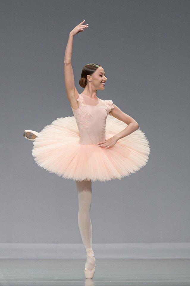 """K.Matačinaitė balete """"Paquita"""".<br>M.Aleksos nuotr."""